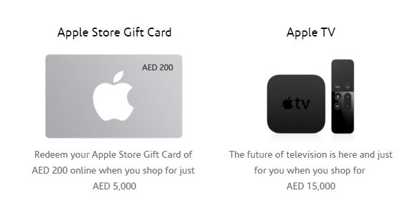 how to use itunes gift card on apple tv