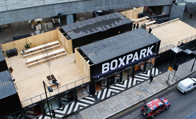 Beatbox at BoxPark