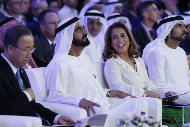 Dubai Ruler Calls For Joint International Effort