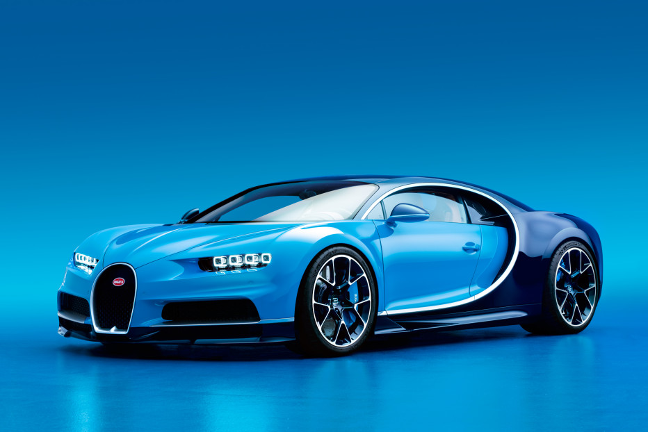 "The most eagerly awaited car of the show, Bugatti's Chiron is the successor to the ludicrous Veyron, maybe the best car ever. The Chiron was designed to surpass the Veyron in every aspect. The engineering brief could be summed up as ""more."" It is faster, more comfortable, more elegant, more unconscionably and unfathomably powerful. It's massive 16-cylinder engine produces 1,500 horsepower and 1,200 pound-feet of torque. Its top speed remains unknown, but software will limit customers to 261 mph.  DOMINIC FRASER/BUGATTI"