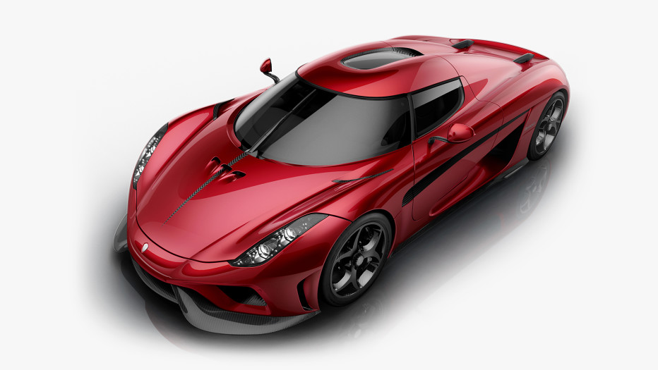 "Bugatti doesn't have many rivals, but Koenigsegg is on the list. The Swedish automaker finds the term ""supercar"" a bit underwhelming---it prefers to call its new Regera a ""megacar."" It combines a 5-liter V8 engine with a 4.5-kWh battery pack to make 1,500 horsepower, matching the Chiron. Koenigsegg says the Regera will hit 62 mph in 2.8 seconds and get to 248 mph in under 11 seconds.  KOENIGSEGG"