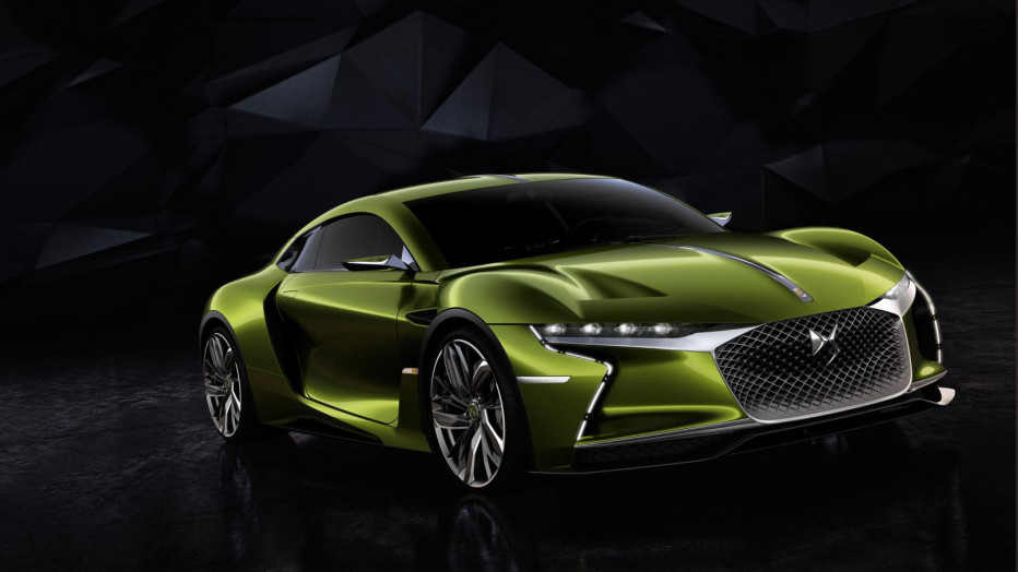 Citroen is going electric, and it's doing it in style. The DS E-Tense is a fully electric supercar that will produce more than 400 horsepower and hit a top speed of 155 mph thanks to a pair of lithium-ion batteries located underneath the floor.  DS AUTOMOBILES