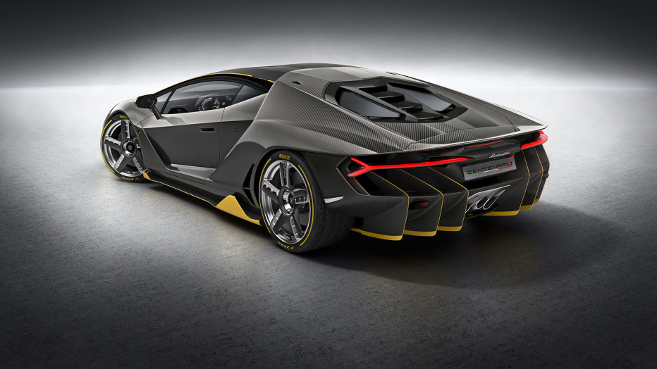 To mark 100 years since the birth of Ferruccio Lamborghini, the company he created built the $1.9 million Centenario. The new supercar packs a naturally aspirated V12 engine that will produce 770 horsepower. V12 engines are known for singing like Anna Netrebko, but this one hits an even higher note, redlining at 8,600 rpm to prove that yes, your eyes can open that much wider. And of course it's made almost entirely of carbon fiber because, well, at this price, it damn well better be. LAMBORGHINI