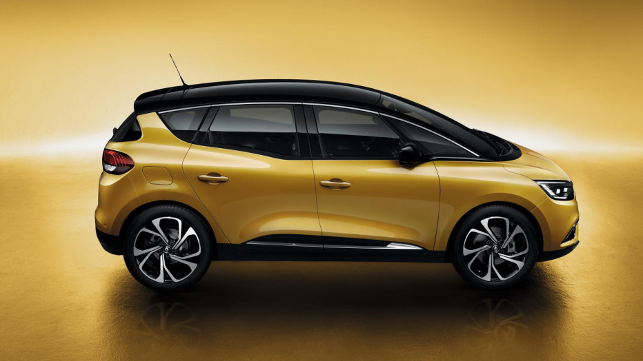 "Not every pile of metal in Geneva is a supercar. Take the little Renault Scénic, the French automaker's new ""multi-purpose vehicle"" that's all about shuttling families around during those month-long vacations. So long, minivans.  RENAULT"