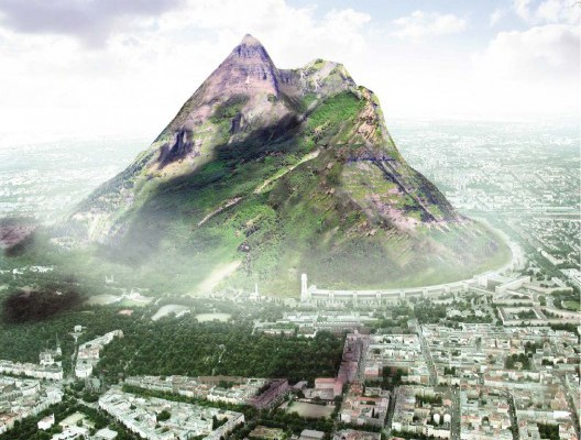 UAE to build man made mountain artificially to improve rainfall