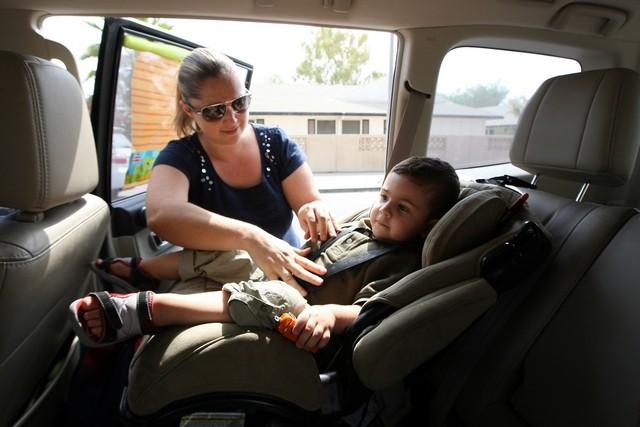 Child seats mandatory in taxi