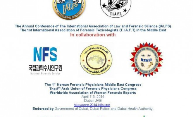 Global forensic conference in Dubai next year