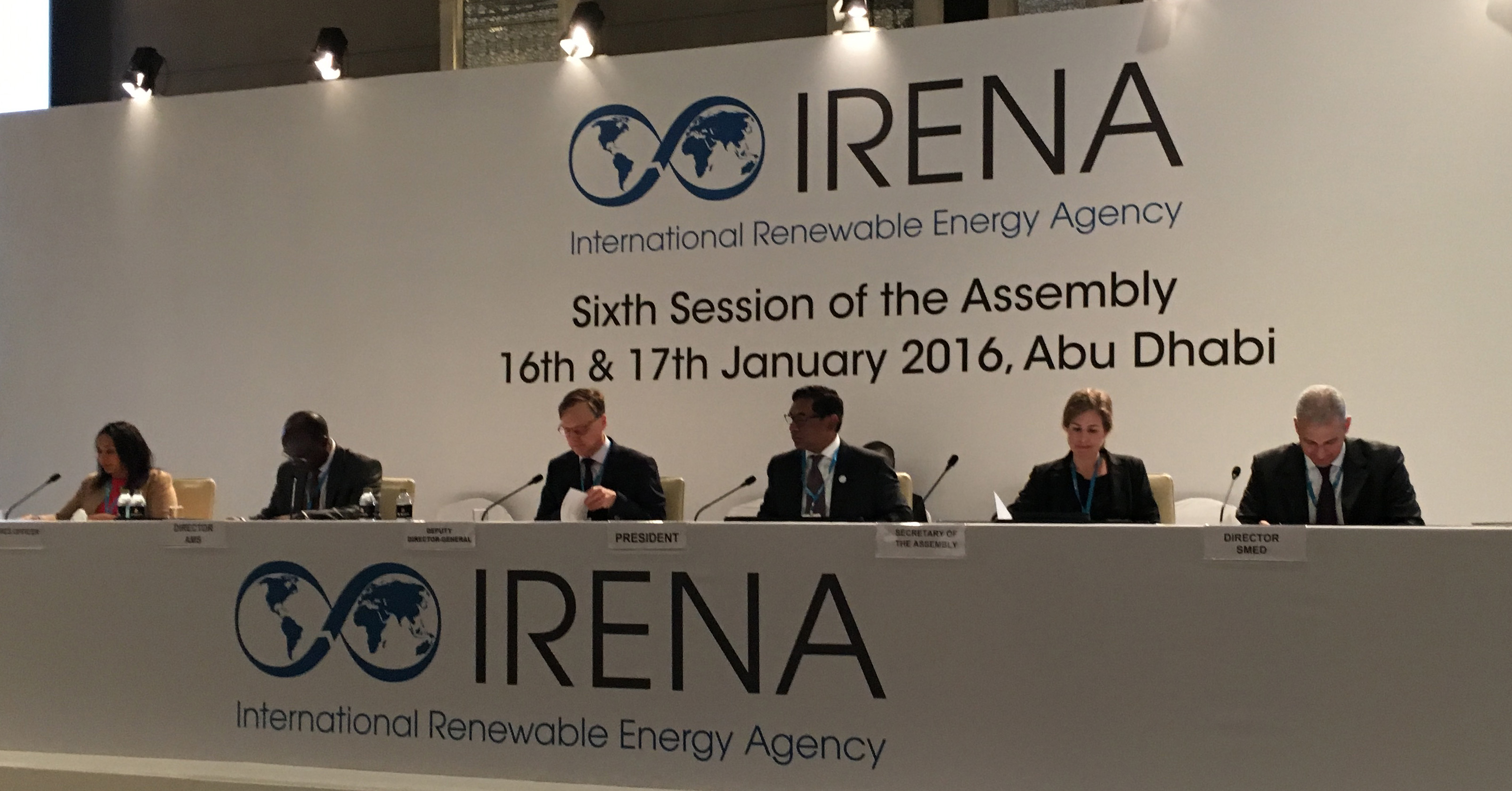 IRENA assembly