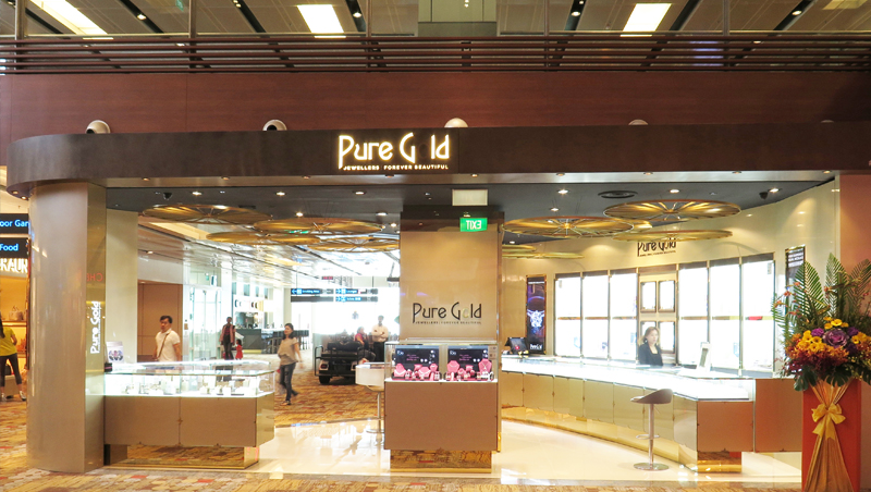 Pure Gold Jewellers Address and website in Abu Dhabi