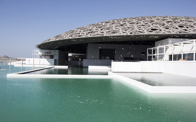Louvre Abu Dhabi as the sea becomes museum's first attraction
