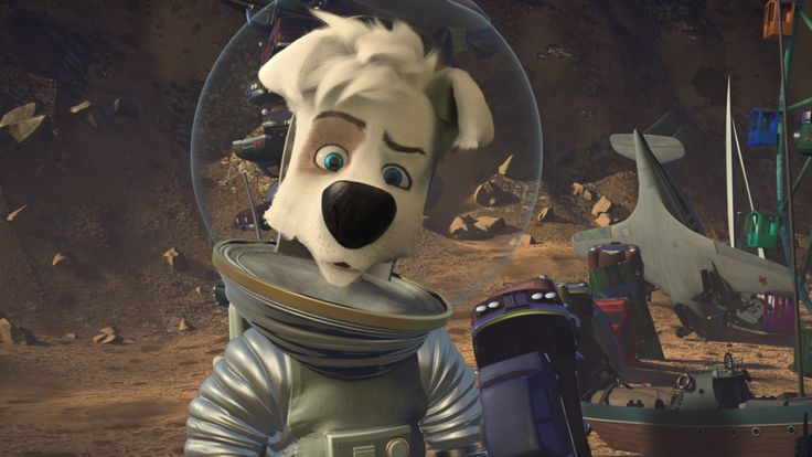 Space Dogs Adventure Moon 2016