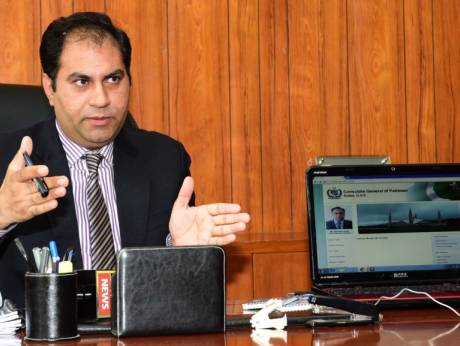 Online appointment system at Pakistan Consulate in Dubai