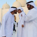 Prayers and fireworks mark the first day of Eid Al Adha in Abu Dhabi