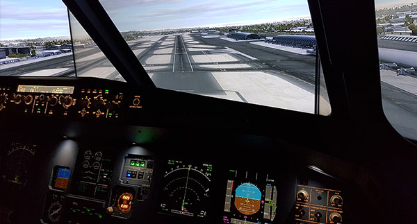 Flight Simulator in Dubai - UAE - Airbus A320