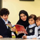 UAE school teacher teaching students