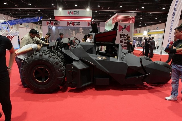 Toys For Big Boys : Big boys toys roars to life at abu dhabi