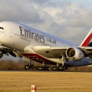 Emirates Airlines Flight Takeoff