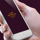Etihad Airways Mobile App Display