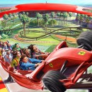 Ferrari World Ride Animated