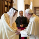 Sheikh Mohammed bin Zayed meets Pope Francis
