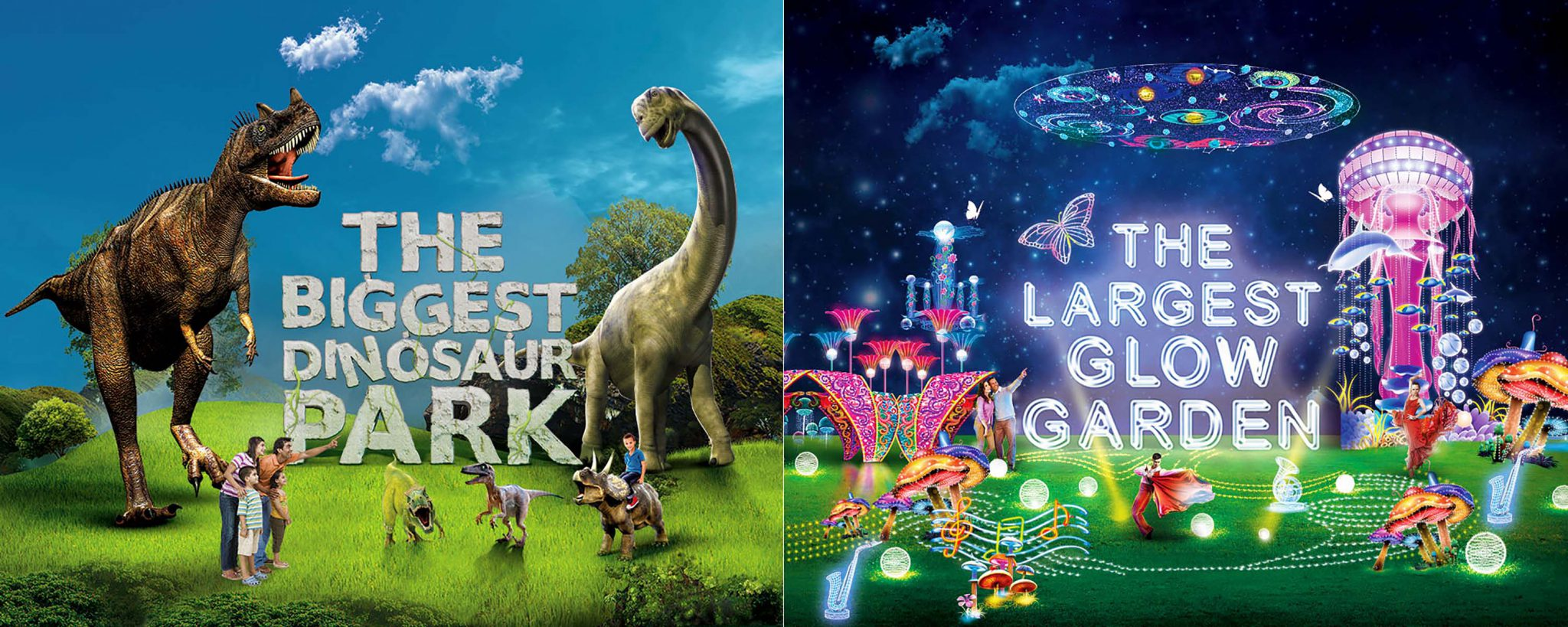 Dubai Garden Glow Season Two to Open with Dinosaur Park