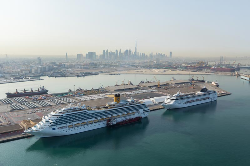157 Cruise Ships To Dock In Dubai For Tourism Season - Abu Dhabi - Information Portal