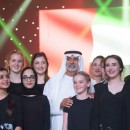 Sheikh Nahyan bin Mubarak with Participants at National Theatre