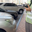 Dubai Police Issuing Traffic Fine