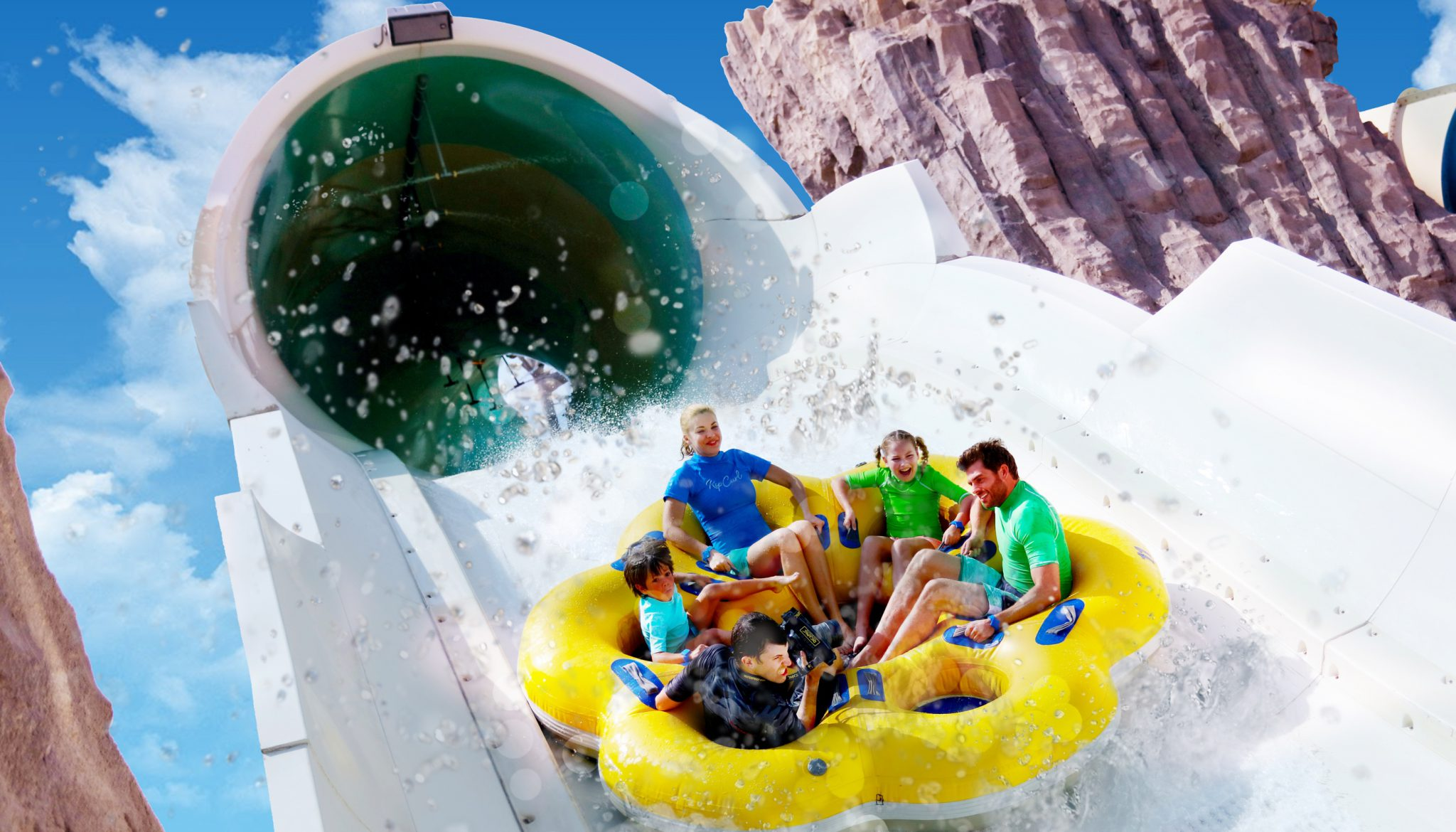 Image result for Falcon's Falaj yas waterworld ride