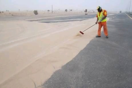 Sandstorm Clean-Up Dubai