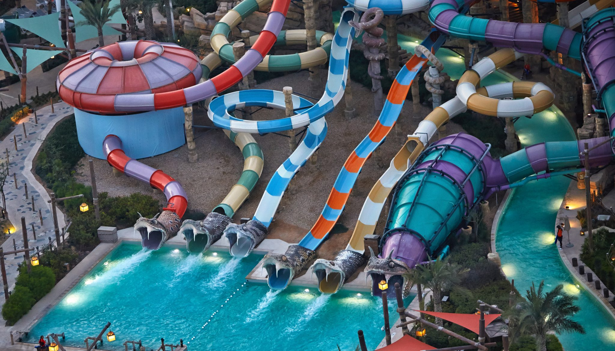 Slither's Slides Yas Waterworld