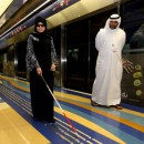 Special Needs Traveller on Dubai Metro
