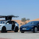 Tesla Model X and Model S Launch UAE