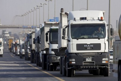Trucks on UAE Roads