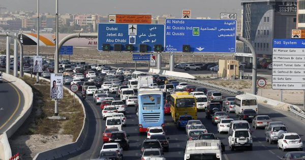 Dubai-Sharjah Traffic