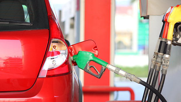Filling Petrol at Pump