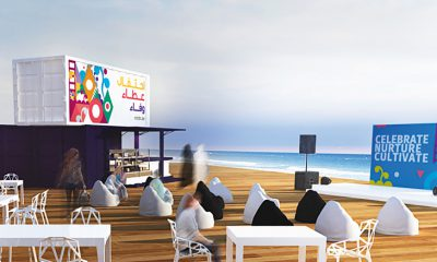 Mother of the Nation Festival Beach Dining Zone