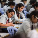 Students Writing CBSE Board Exam