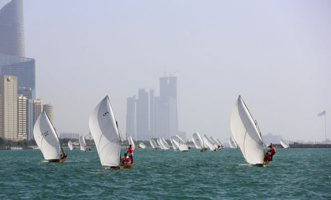 YAS Dhow sailing race 22ft - Sports Event in Abu Dhabi