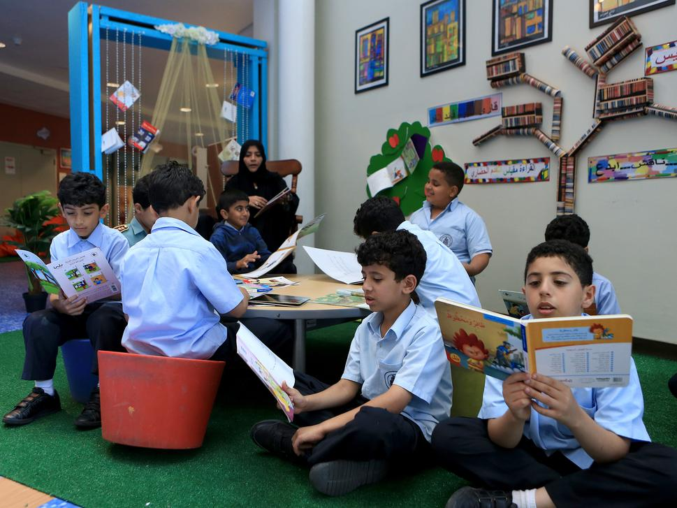 Schools in Abu Dhabi follows American curriculum regulated by ADEC