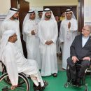Sheikh Mohammed with Special Needs People