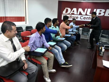 Danube Offers Free Courses To Blue Collar Workers Abu Dhabi Information Portal
