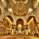 Sheikh Zayed Grand Mosque Inside