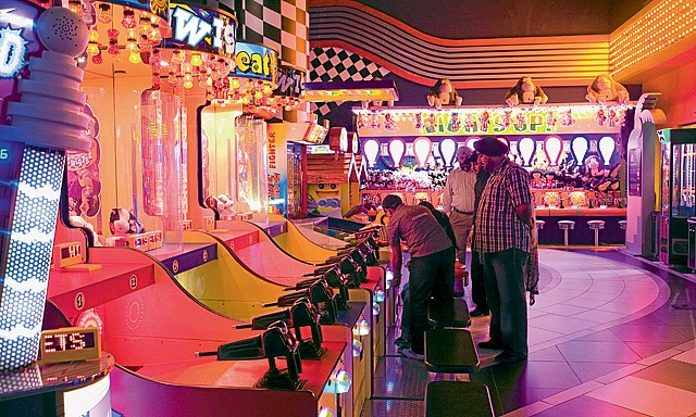 Arcade Games - SEGA Republic is the Indoor Theme Park in Dubai