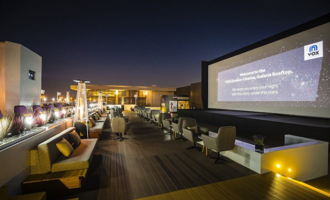 Rooftop Cinema by Vox Cinema at Galleria Mall Dubai