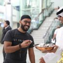 Sharjah International Aiport Giving Iftar Food
