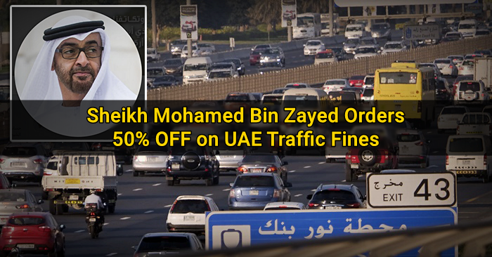Sheikh Mohammed Issues 50% Discount on Dubai Traffic Fines