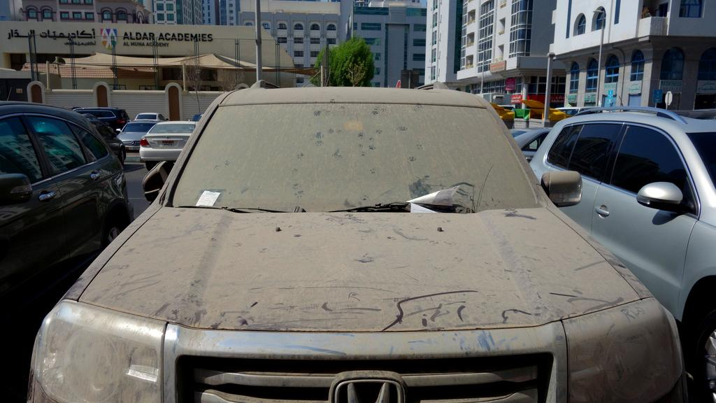 Dubai Police Cars >> AED 3000 Fine for Over 100 Neglected Vehicles in Abu Dhabi ...