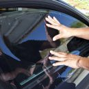 Tinting a Car Window