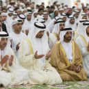 Sheikh Mohamed Conducting Eid Prayer